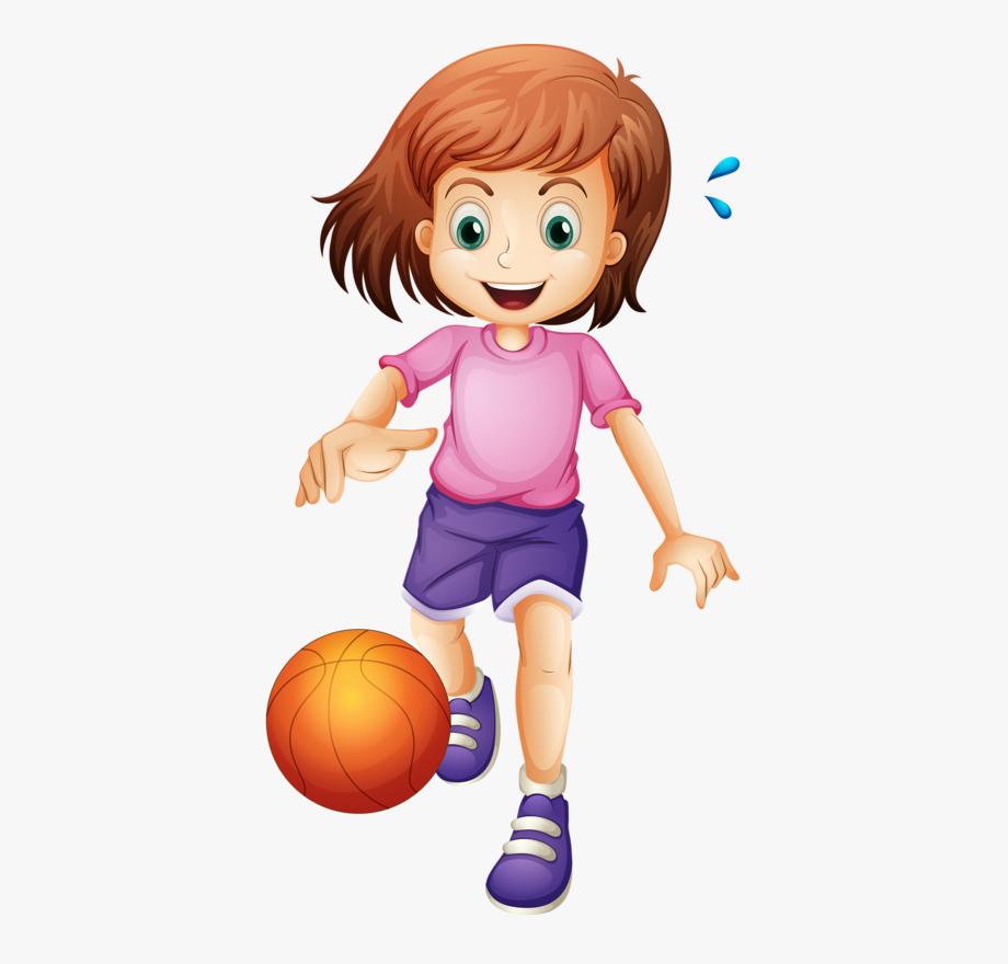 Kids play girl.