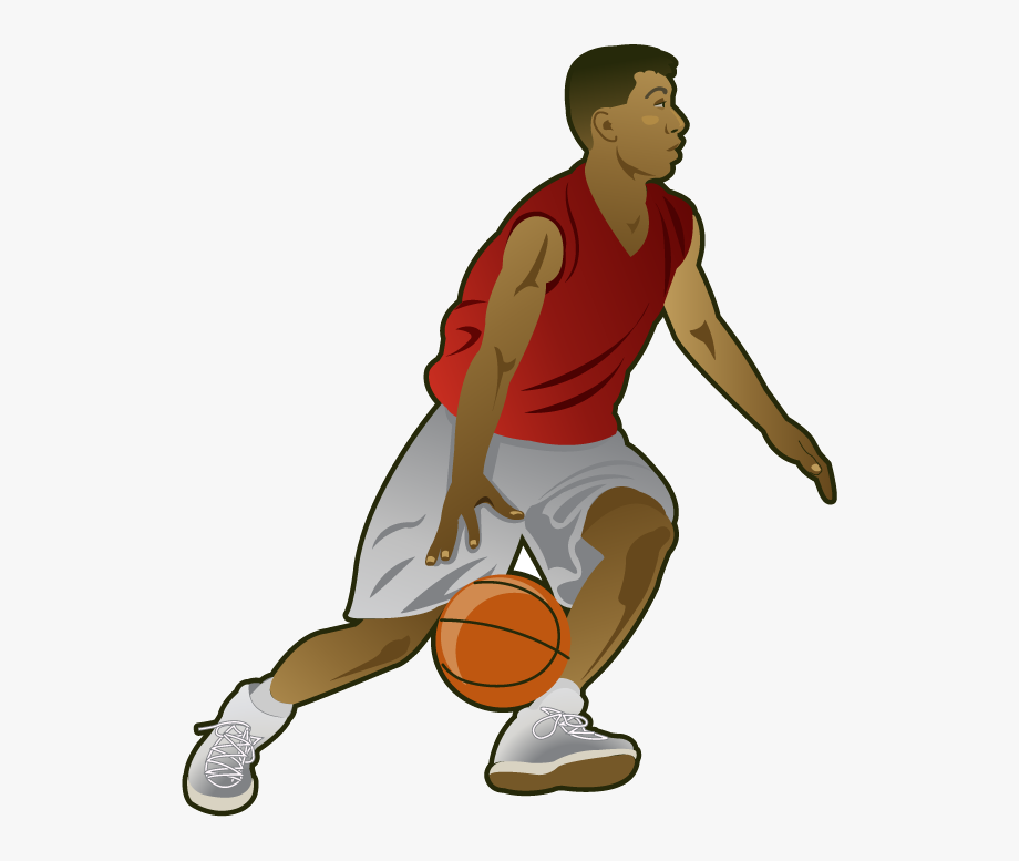 Basketball clipart person.