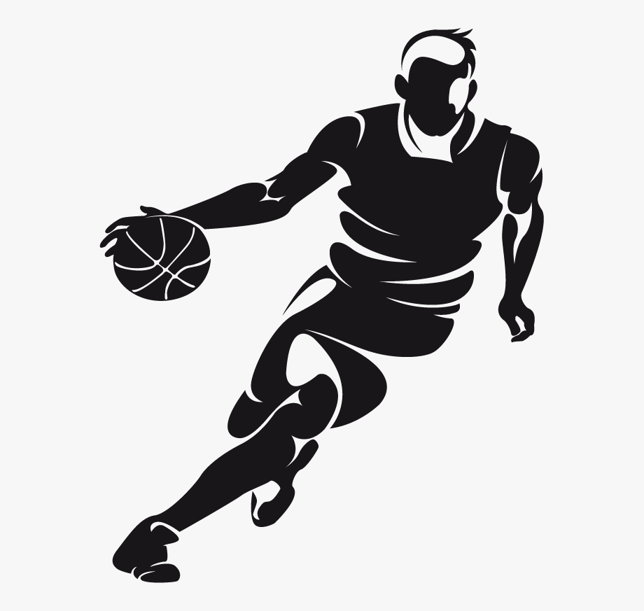 Clip Royalty Free Library Dribbling Basketball Clipart