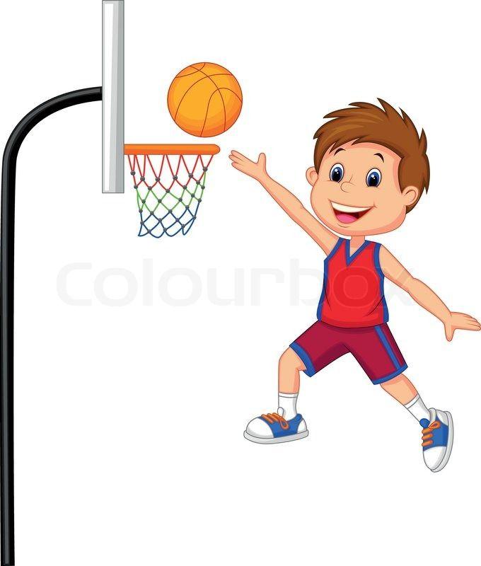 Playing games basketball.