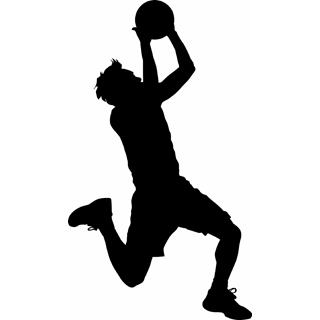 basketball player clipart male