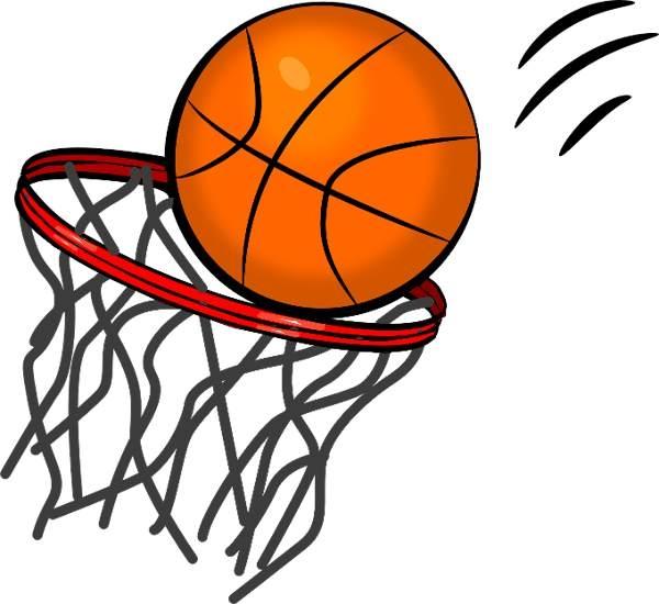 Basketball clipart vector.