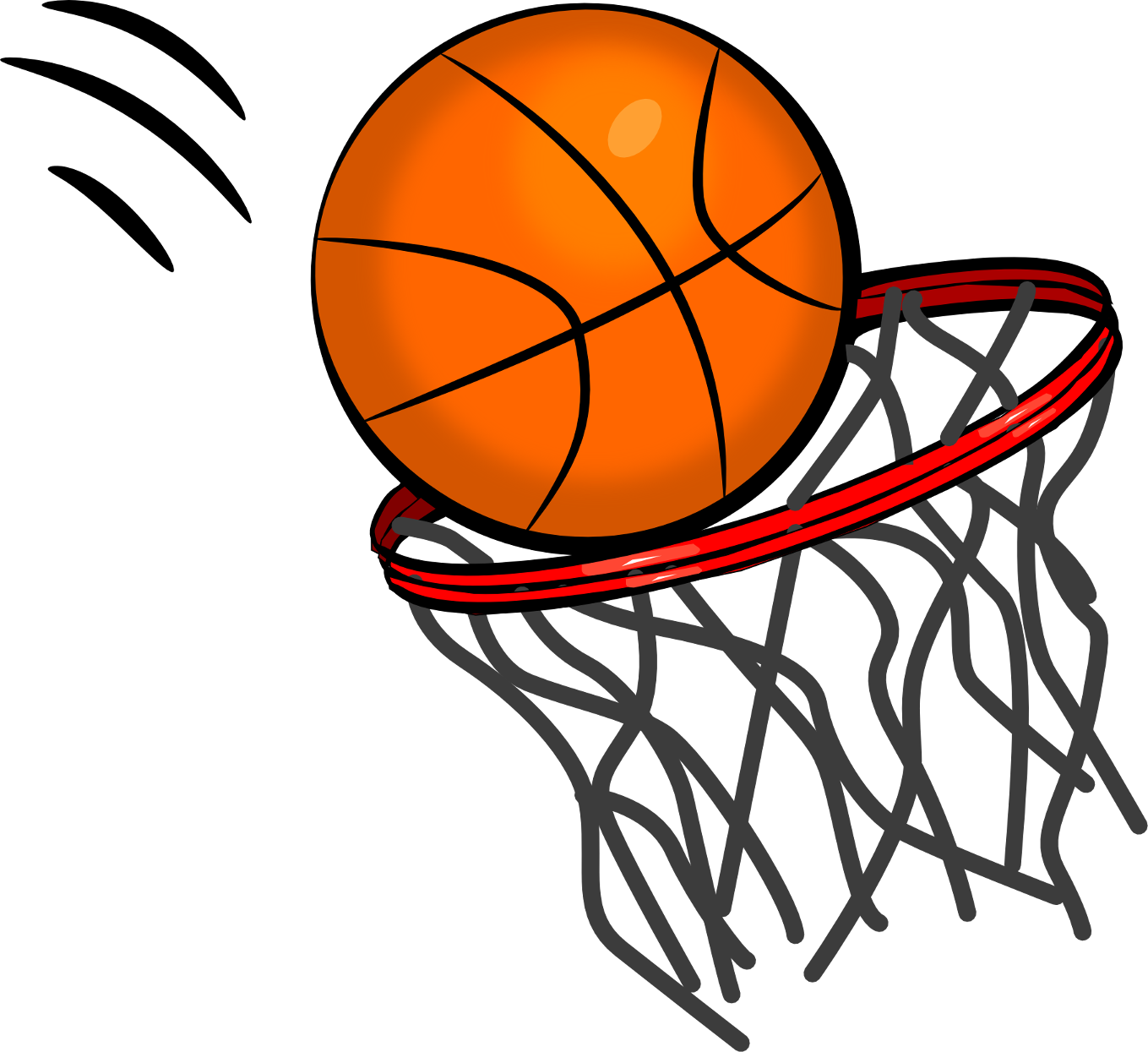 sports clipart basketball