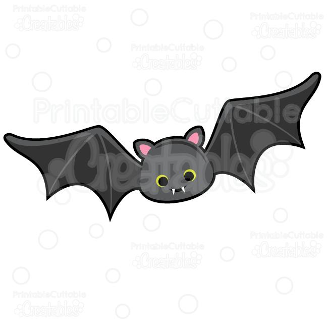 Cute vampire bat.