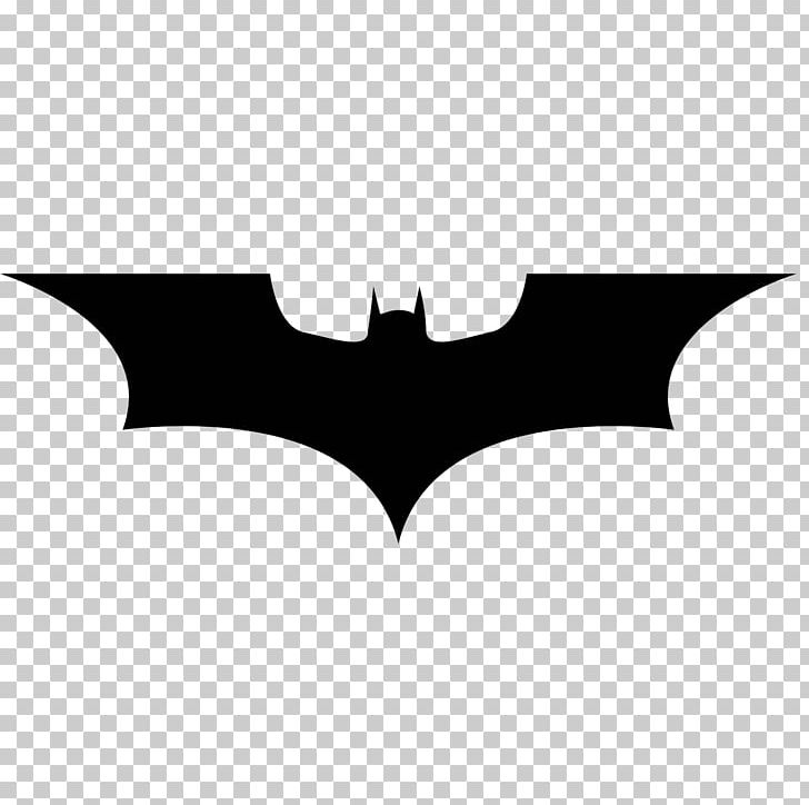 Batman stencil symbol.