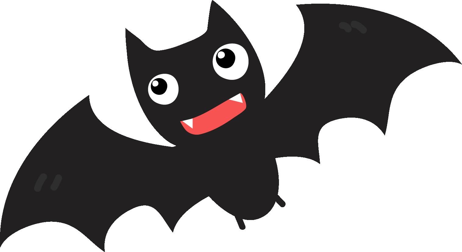 Bats clipart character.