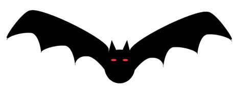 Free halloween bat.
