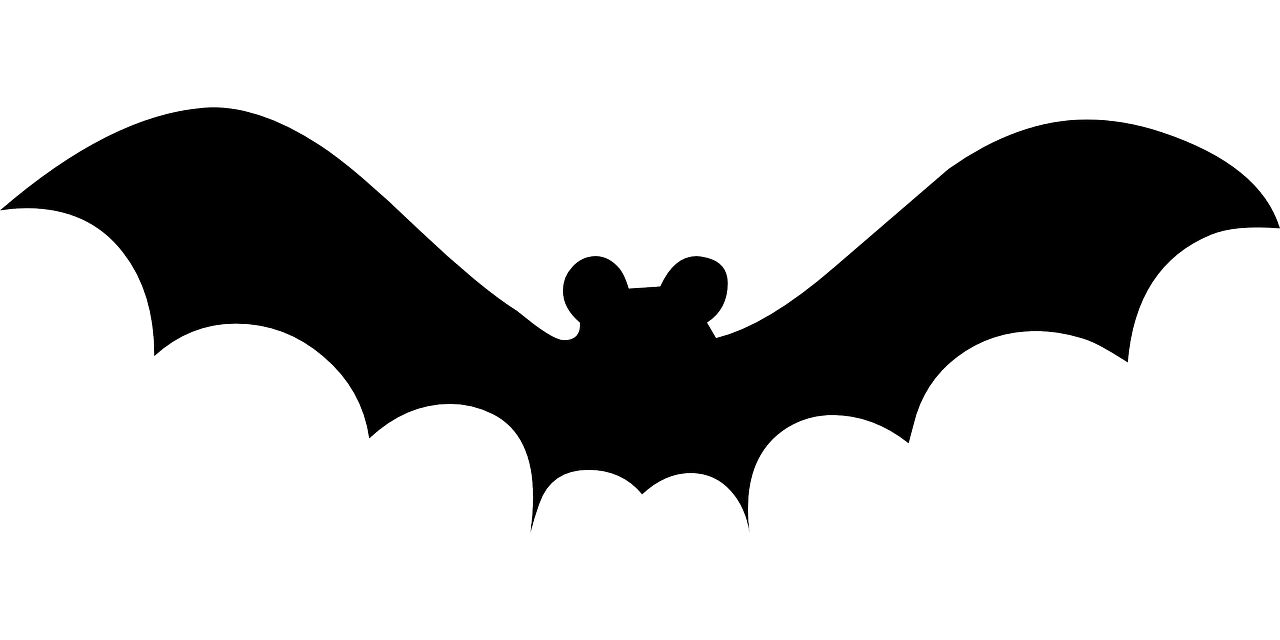 Clipart bat upside.