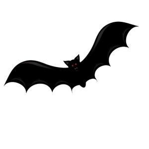 Bat clipart image.