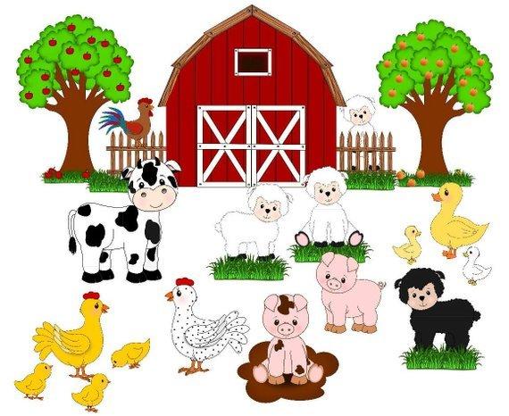Bauernhof scheune clipart