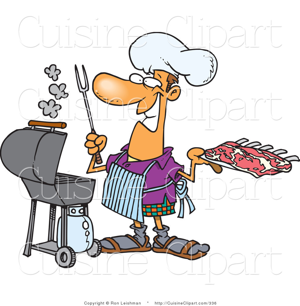 Grill clipart western.