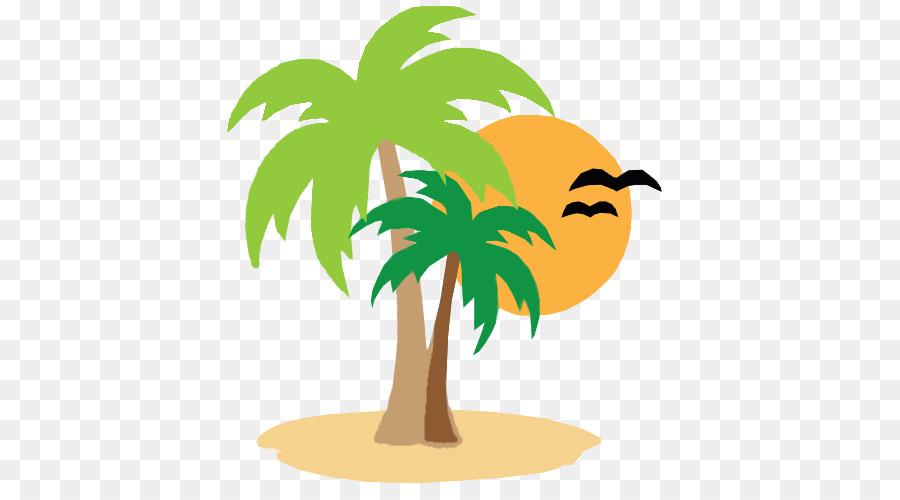 Coconut tree cartoon.