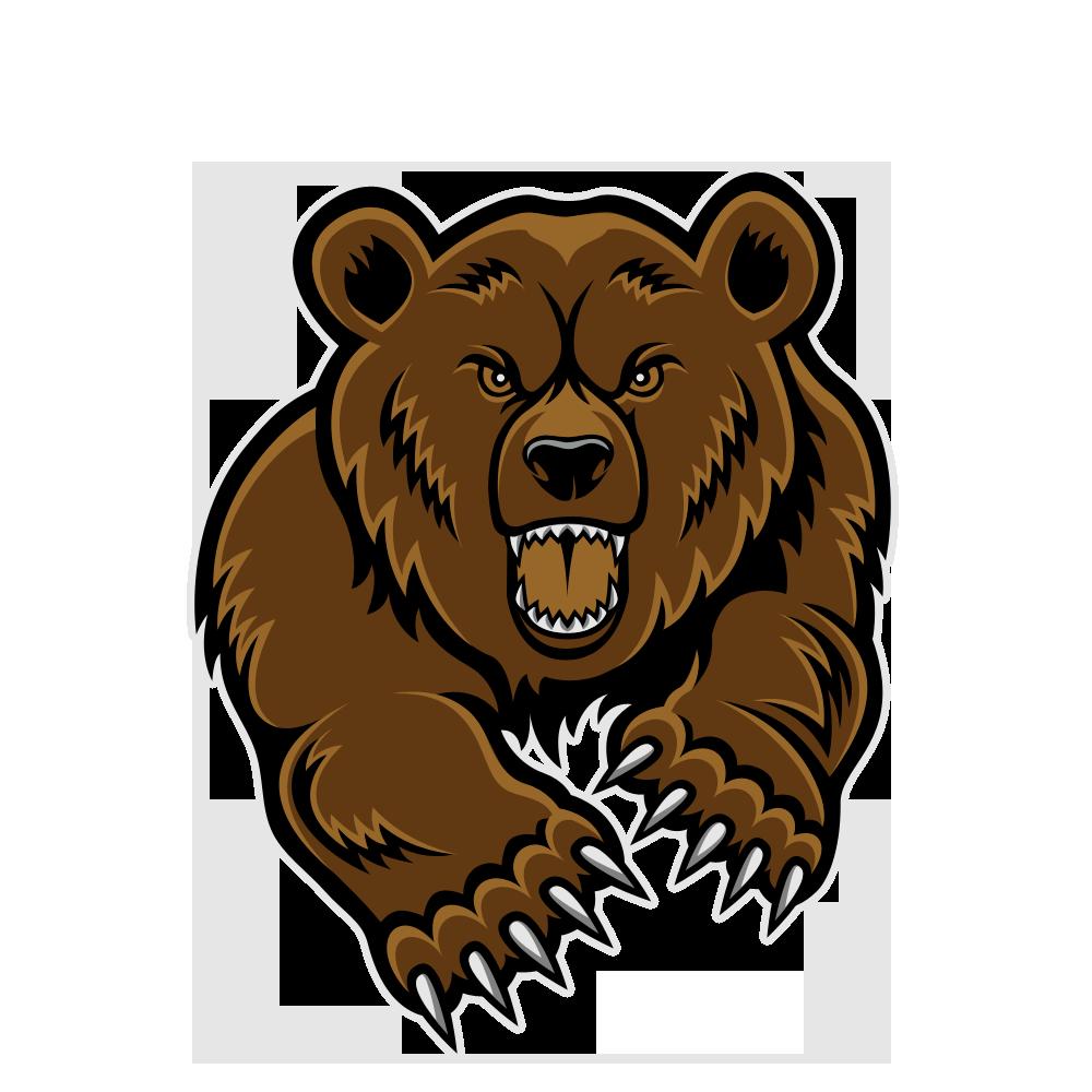 Free bear mascot.