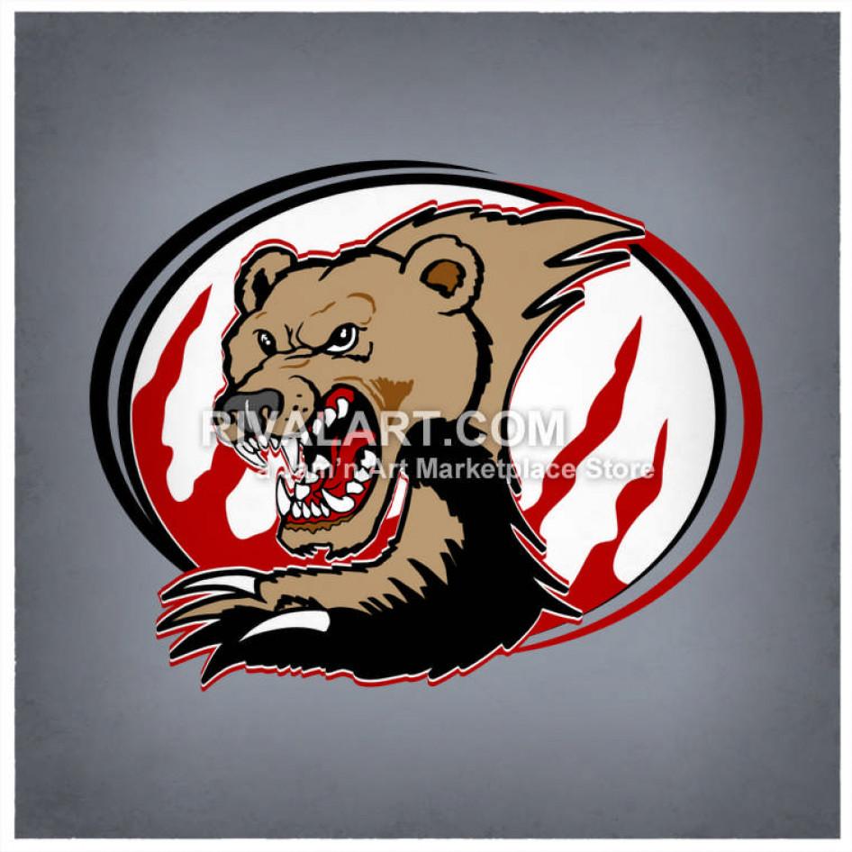 Bear graphic tear.