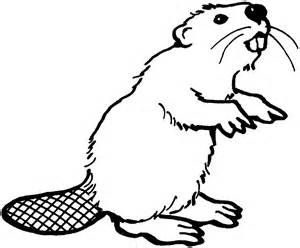 Beaver stencils bing.