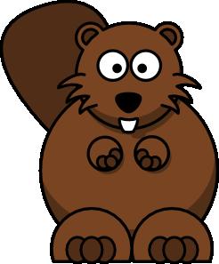 Beaver clipart castor. Beaver clipart castor. Cartoon clip art vector