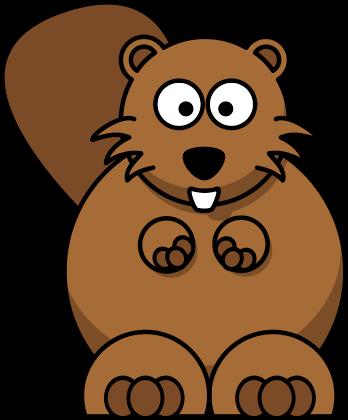 Cartoon beaver images.