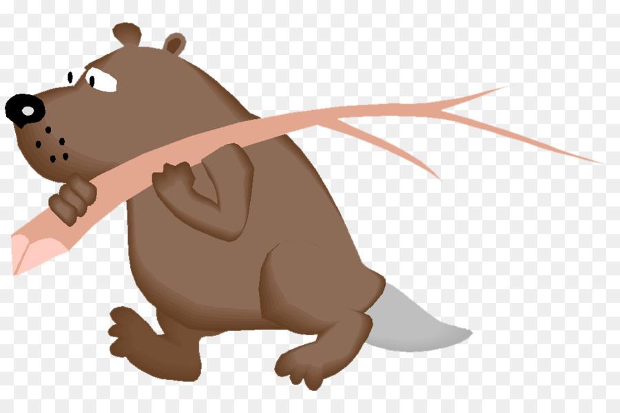 Beaver clipart castor. Cartoon png download free