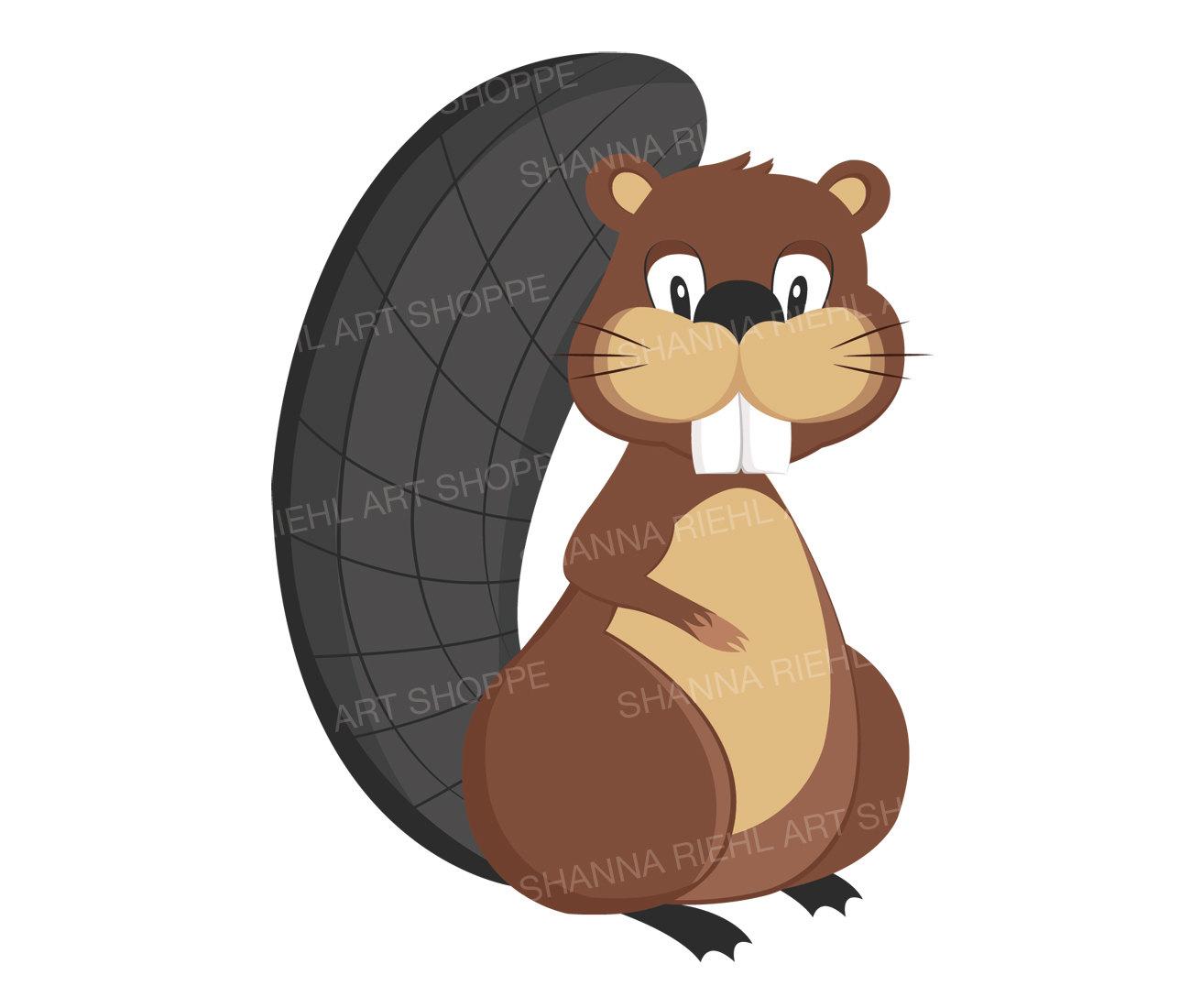 Beaver clipart castor. Otter transparent free for