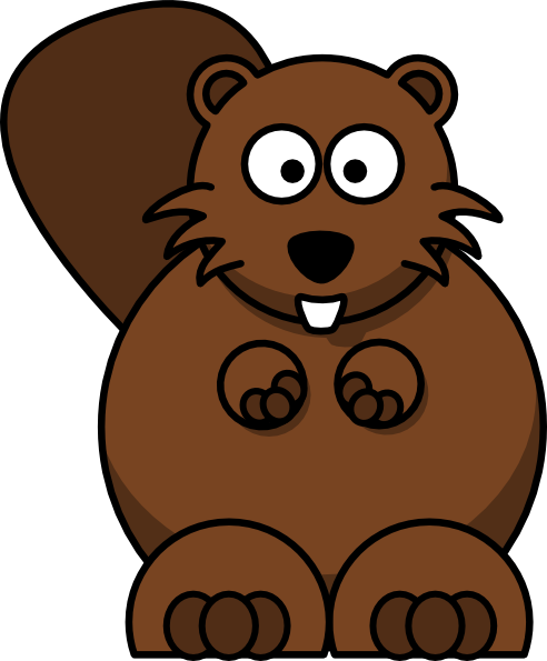 Free Happy Beaver Cliparts, Download Free Clip Art, Free