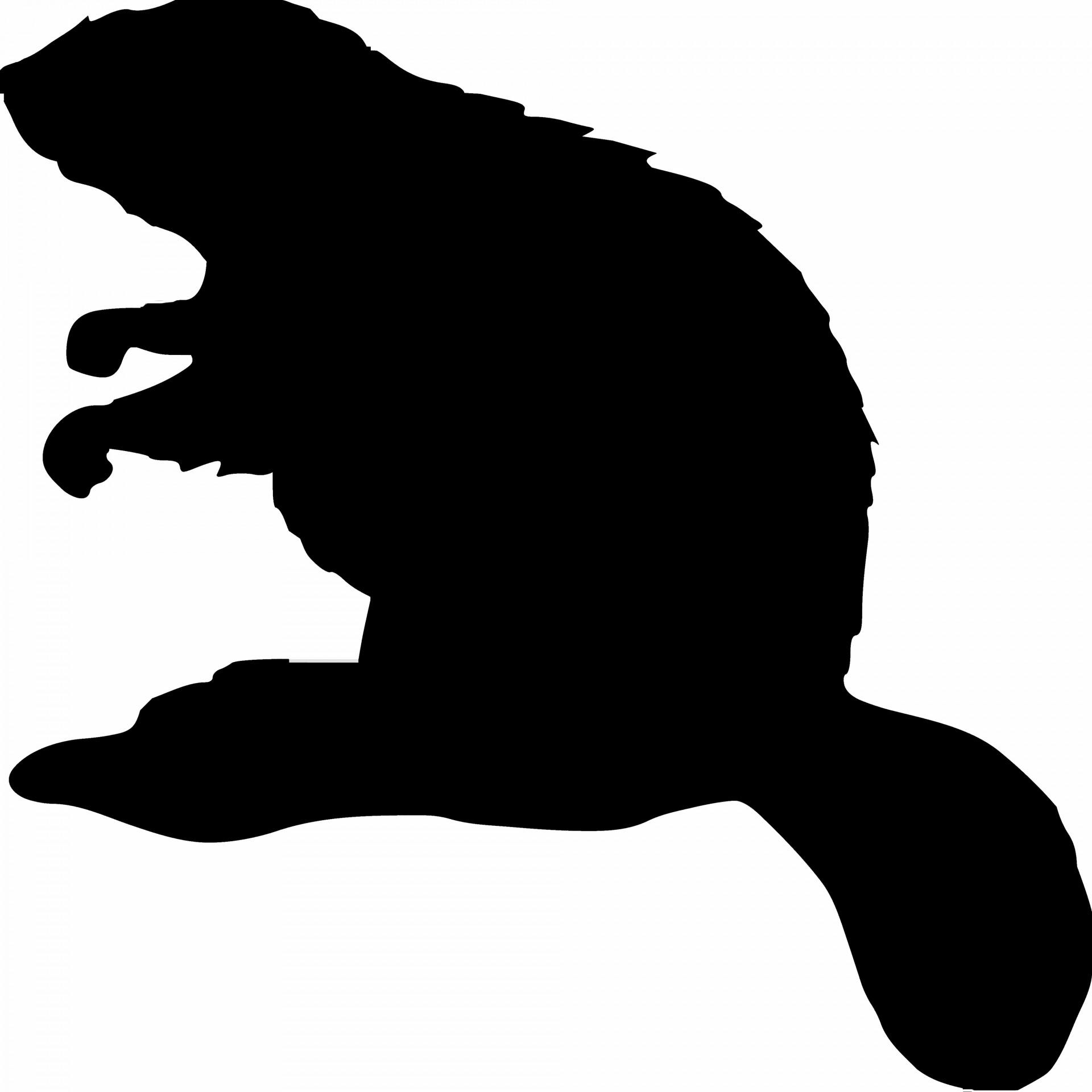 Beaver silhouette free.