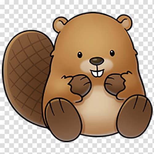 Beaver sticker beaver.