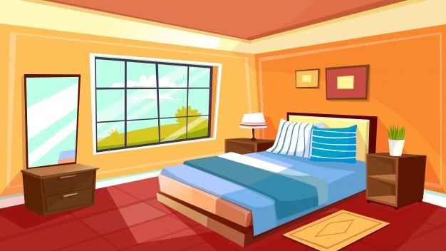 Bedroom vectors photos.