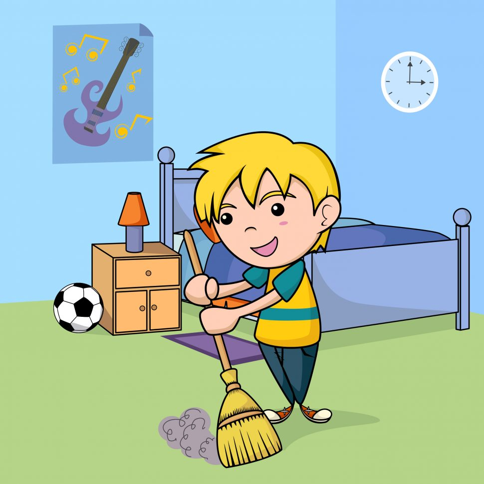 Bedroom clipart clean. Kids as well gclipart