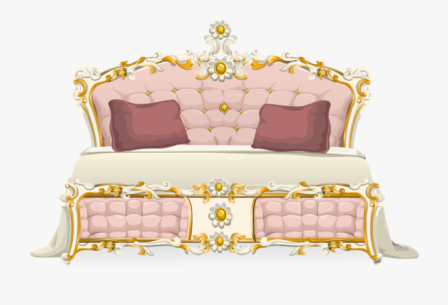 Bed sheets couch.
