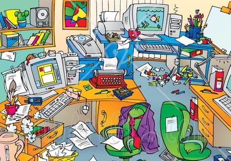 Free messy room.