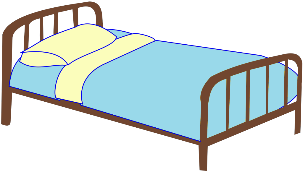 bed clipart transparent background