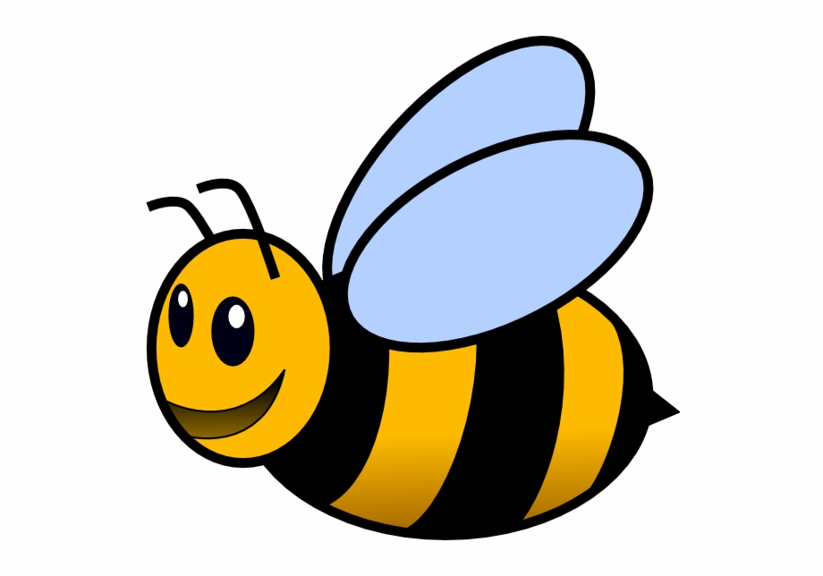 bee clipart transparent background