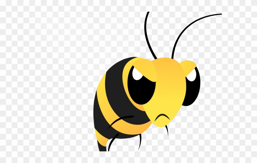 Bee clipart angry. Wasp georgia bulldogs png