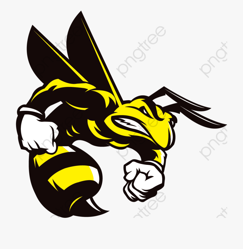Bee clipart angry. Vector png free cliparts