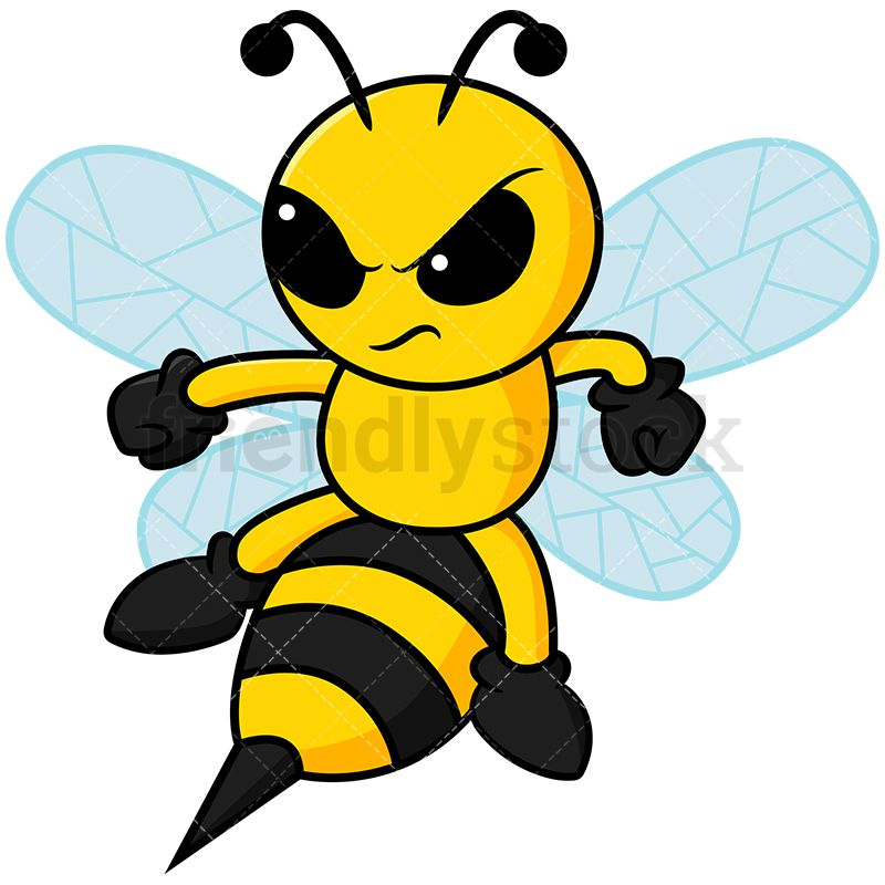 Bee clipart angry. Bee clipart angry. About to sting bees