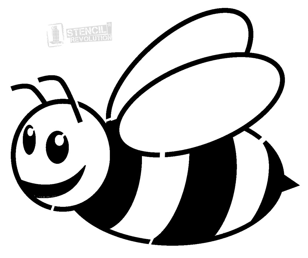 Bee black and.