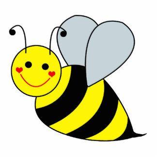 Cute bee clip.