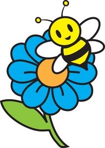 Free flower bee.