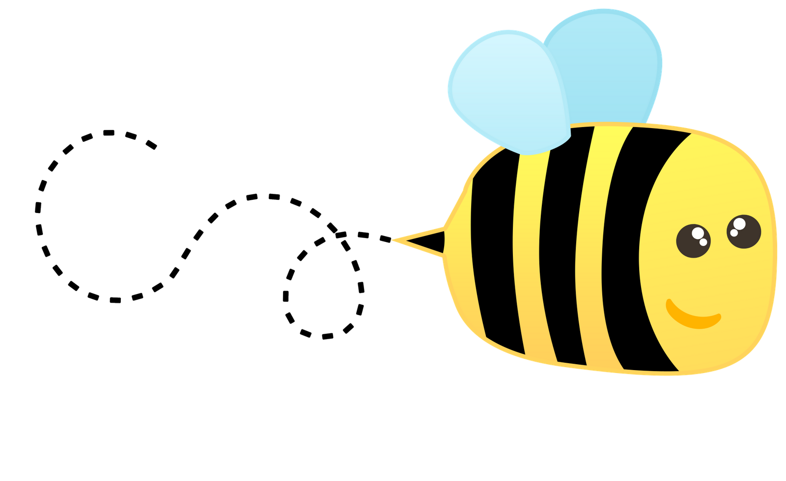 Bee clipart flying. Bee clipart flying. Free cliparts download clip