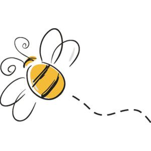 Bee fly clipart.
