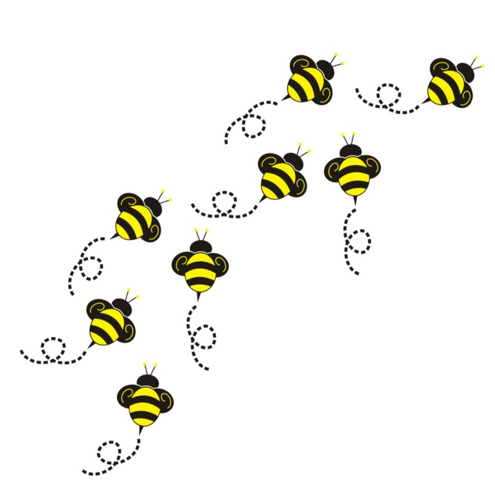 Bee clipart flying. Free cliparts download clip