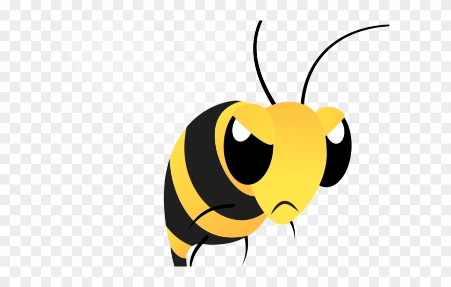 Bumblebee clipart mean.