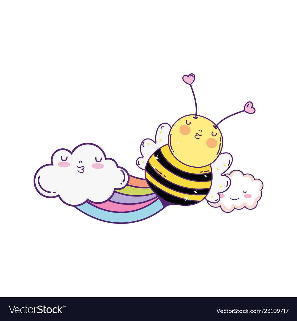 Little bee with.
