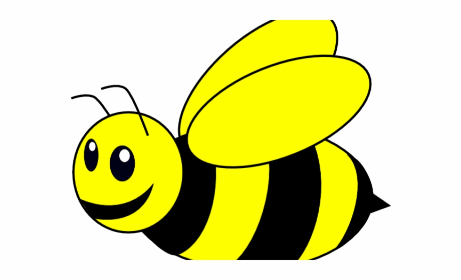 bee clipart clear background