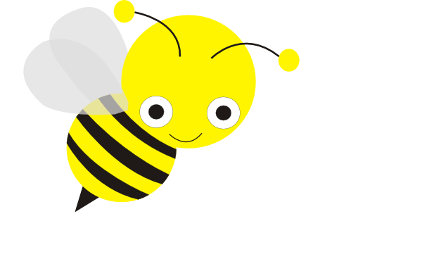 Bee clipart vector. Clip art pictures bees