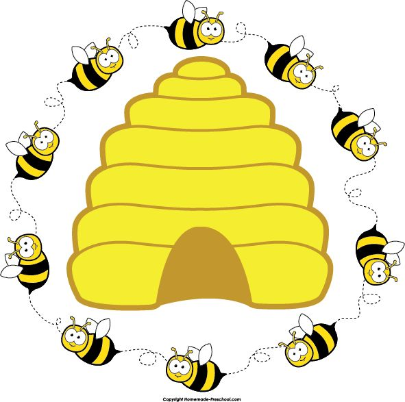 Beehive bee clipart ideas on bumble bee images cute