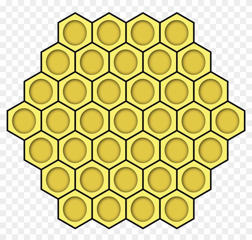 bee hive clipart hexagon
