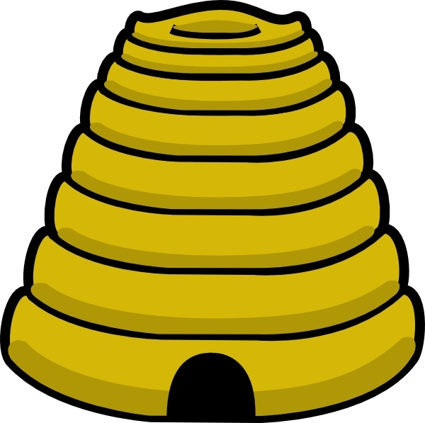 Bee hive clipart illustration. Bee hive clipart illustration. Clip art free vector