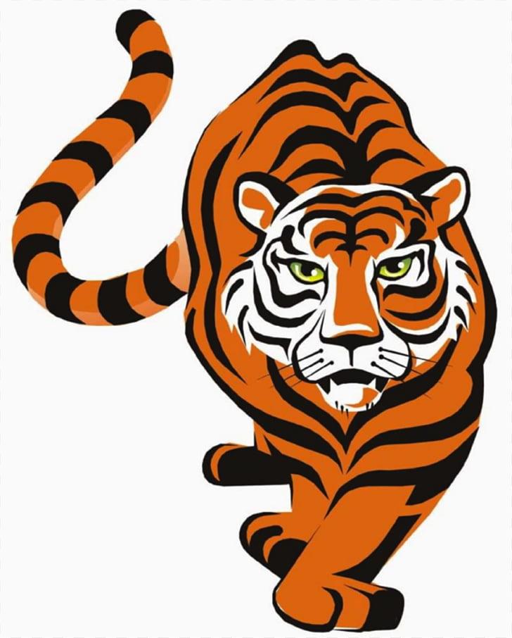 bengals clipart tiger soccer