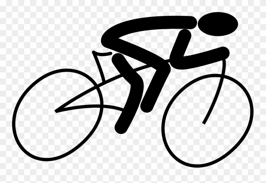 Bicycle clipart cycling. Bike svg clip art